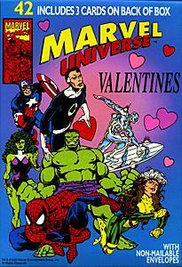 1993 Marvel Valentines