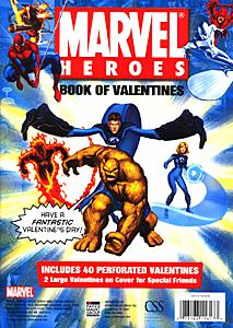 2006 Marvel Valentines - back
